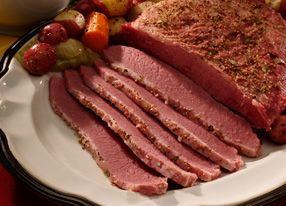 BAKED CORNED BEEF WITH HONEY MUSTARD | Where's the beef?! | Pinterest
