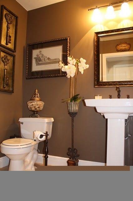 Powder Room WALL COLOR Bathroom Pinterest