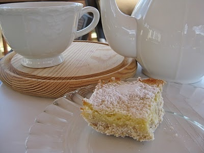 Low-fat Lemon Bars | healthy foods and substitutes | Pinterest