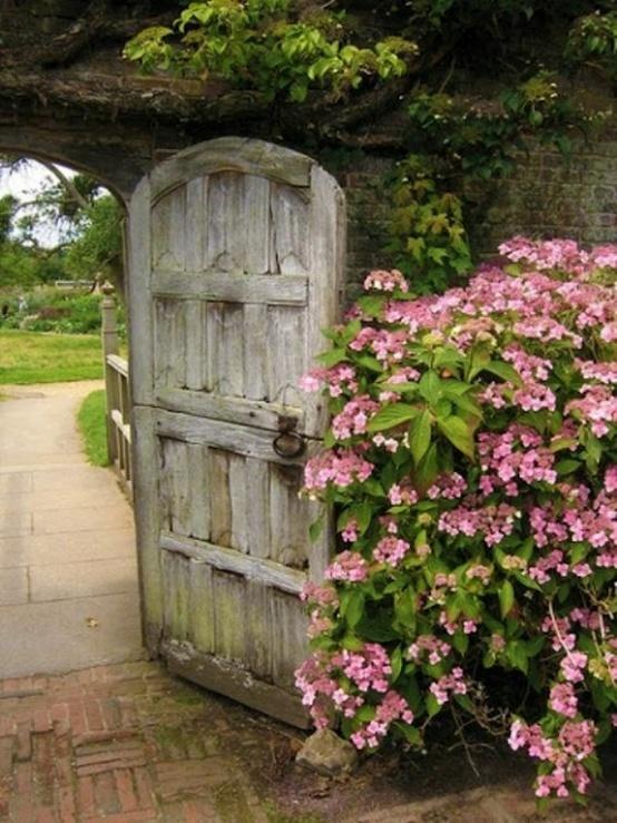 Garden Gates Garden Doors Pinterest