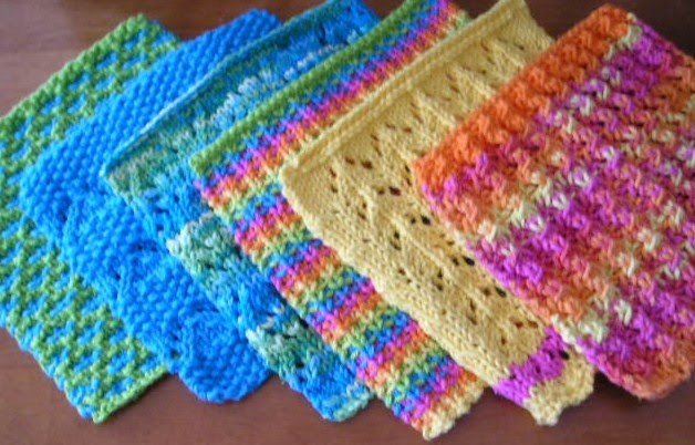 Knitted Wash Clothes Free Patterns : Pin by Marilyn Kennedy on knitting Pinterest