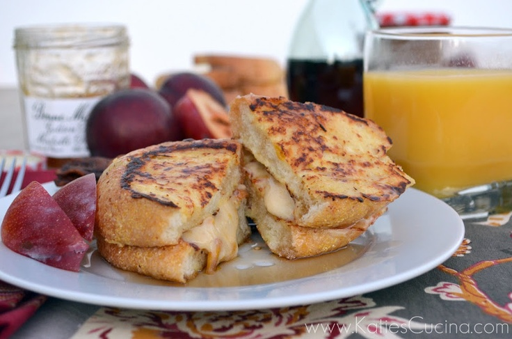Buttermilk French Toast Stuffed with Cream Cheese Golden Plum Mirabel ...