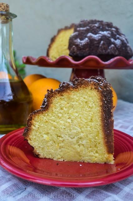 Orange - Olive Oil Cake. | Ma's Cakes | Pinterest