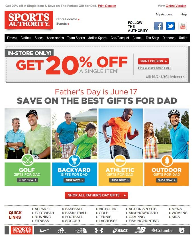 father's day promotion penang 2014