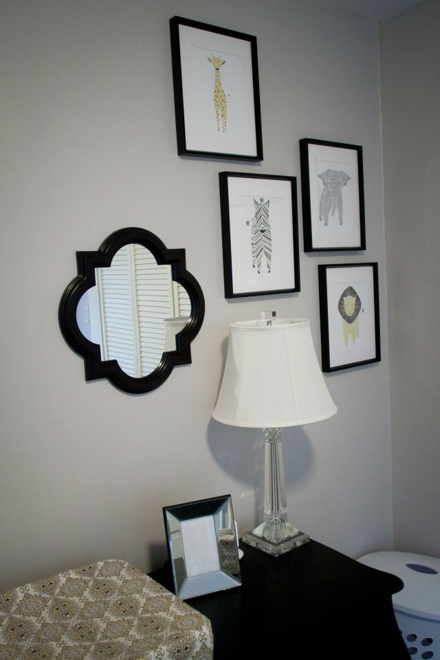 Graphic Animal Print Gallery Wall