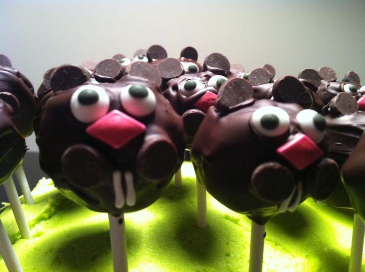 Groundhog Day Cake Balls | Holidays | Pinterest