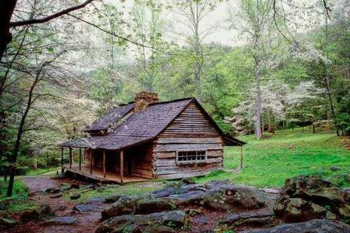 Beautiful Log Cabin Home And Garden Pinterest