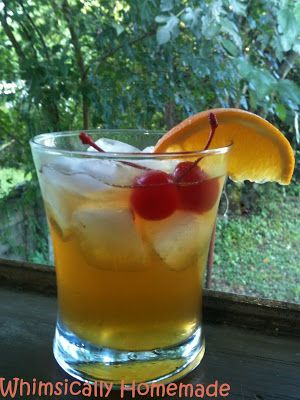 Whimsically Homemade: Amaretto Sour | Fun Drinks | Pinterest