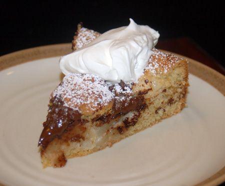 Bittersweet Chocolate and Pear Cake | Cake! | Pinterest