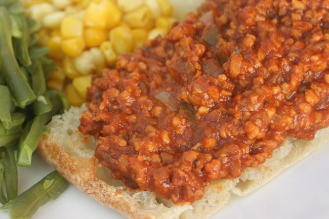 Vegan sloppy joe! | Vegan Recipes | Pinterest