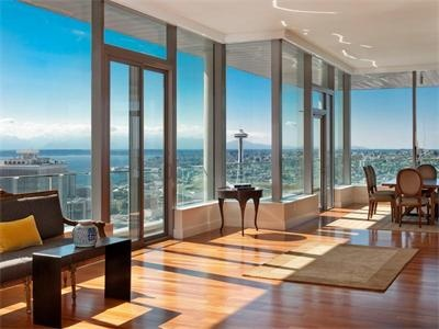 Seattle apartment w killer view dream home pinterest for Seattle view apartments
