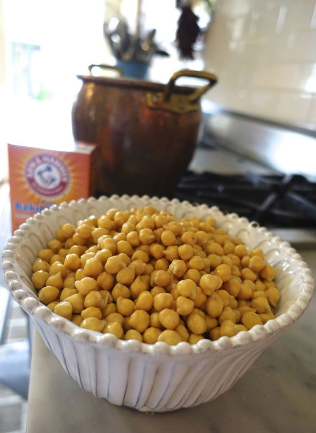Making Fresh Hummus (sans Tahini) with fresh chickpeas | Eat • Drink ...