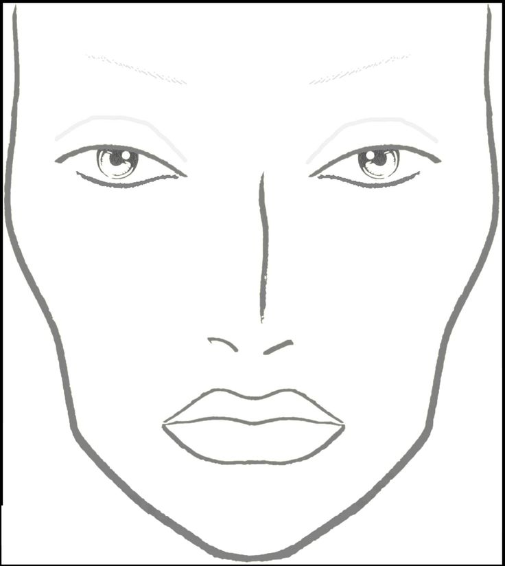 It is a picture of Impeccable Printable Mac Face Charts