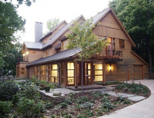 Modern rustic home dream home pinterest for Modern rustic homes
