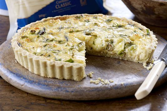 Classic Cheddar and Crab Tart | Appetizers and Snacks | Pinterest