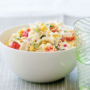Fast & Fresh summer meals | Chicken, Corn, and Tomato Pasta Salad   | Sunset.com