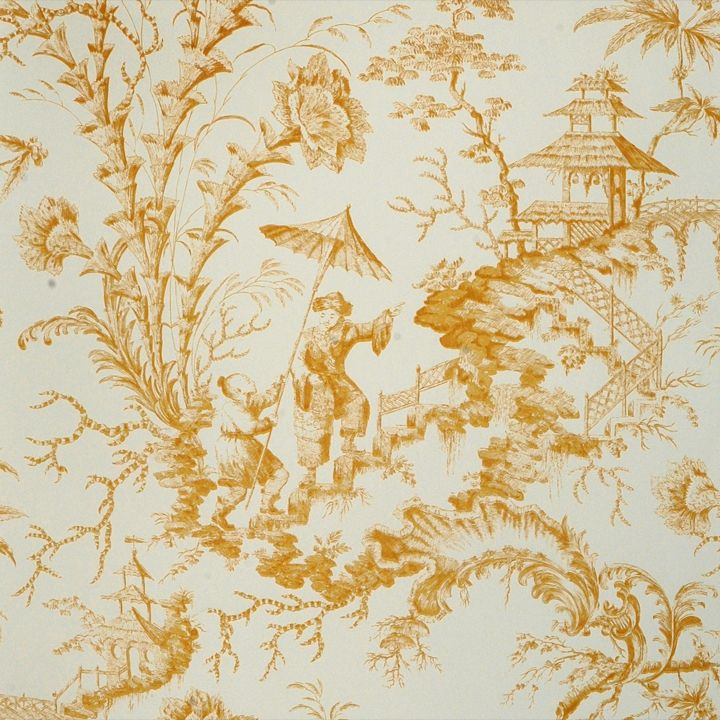 Chinoiserie Toile
