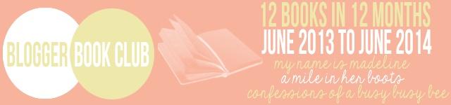 Blogger Book Club June 2013-2014