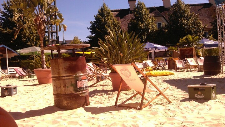 Oberhausen Germany  city pictures gallery : Beach bar, Oberhausen, Germany. | Oberhausen | Pinterest
