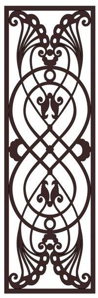 Faux Wrought Iron Pattern D1 | DIY | Pinterest