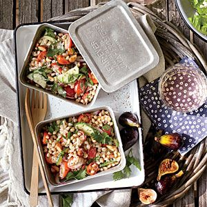 Farro Salad with Cherry Tomato, Onion, and Almonds | Cooking Light # ...