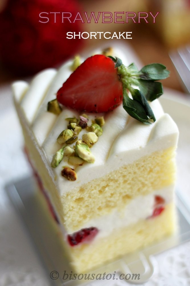 Japanese Strawberry Shortcake | Nothing but strawberry | Pinterest
