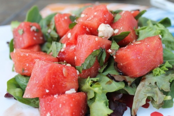 ... feta salad mediterranean watermelon salad watermelon and aleppo salad