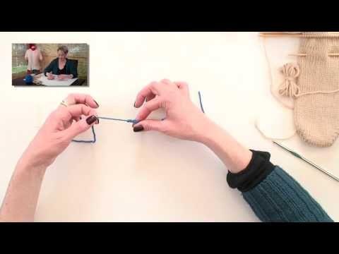 Provisional Cast On Uses and Methods - Knitting, Basic