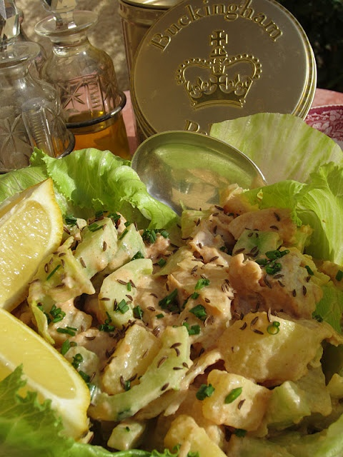 Coronation chicken salad: l'insalata dell'incoronazione!