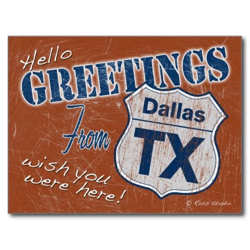 Texas postcard greetings from dallas texas postcard in our offer
