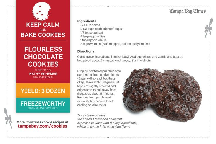 Visit tampabay.com/cookies for more Christmas cookie recipes!