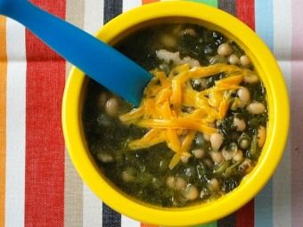 White Bean, Bacon and Spinach Soup | Simple Yummy Food | Pinterest