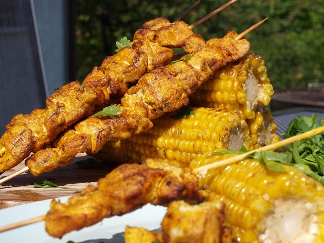 moroccan style chicken kebabs recipes dishmaps lemony moroccan style ...