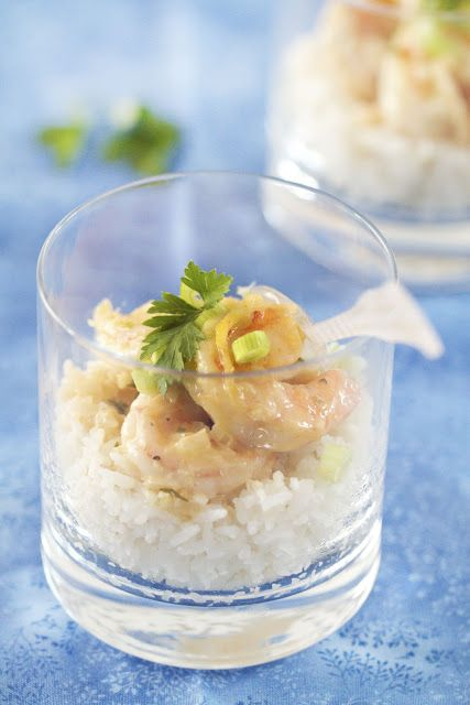 Coconut curry rice and shrimp | Gluten Free Lunch Box | Pinterest