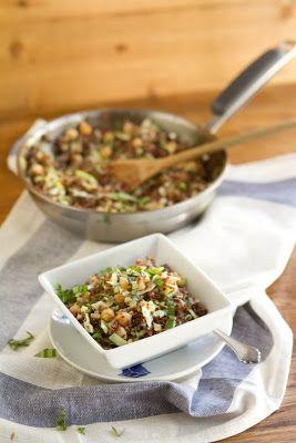 Quinoa, Cabbage, and Garbanzo Beans | Peas in a Pod | Pinterest