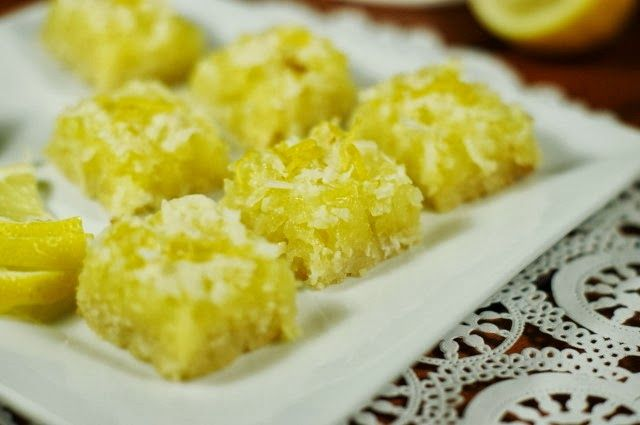 The Kitchen is My Playground: Luscious Lemon-Coconut Bars