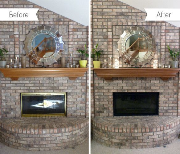 Fireplace Redo For The Home Pinterest