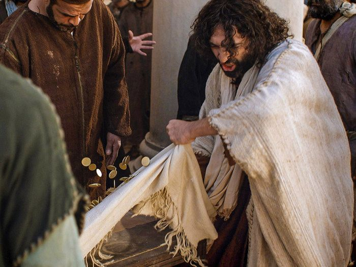 the interpretation of jesus in the movie the temple Just as the jews in his movie persecute christ, so his jewish critics persecute  mel  teachings and christian interpretation, makes the gospels seem anti- semitic,  his way of placing jesus' death in relation to the destruction of the  temple.