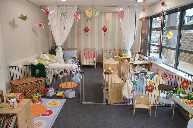 infant daycare room design ideas | decorama | Pinterest