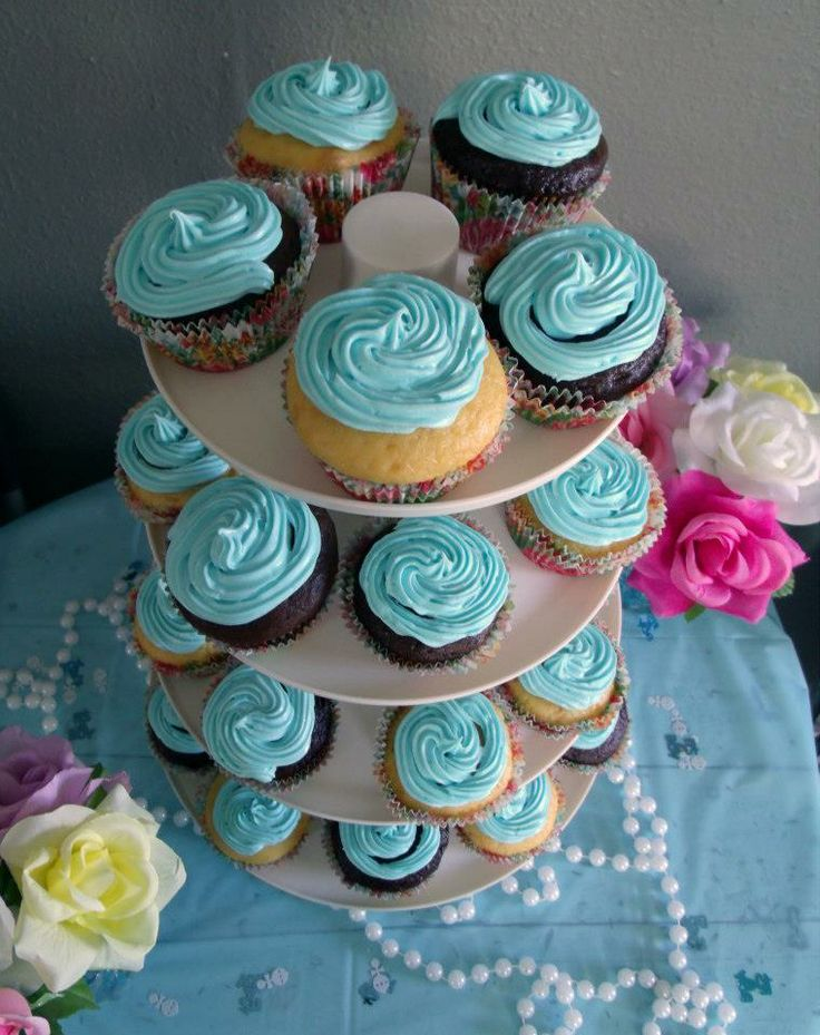 Baby Shower Cupcakes! S.Moore Photography Austin, TX
