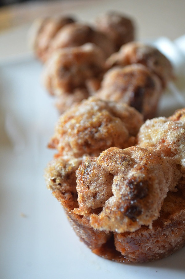 Banana Monkey Bread Muffins | Sweets For the Sweet | Pinterest