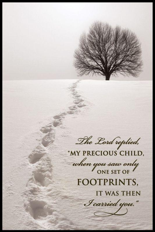 Footprints In Snow Quotes. QuotesGram
