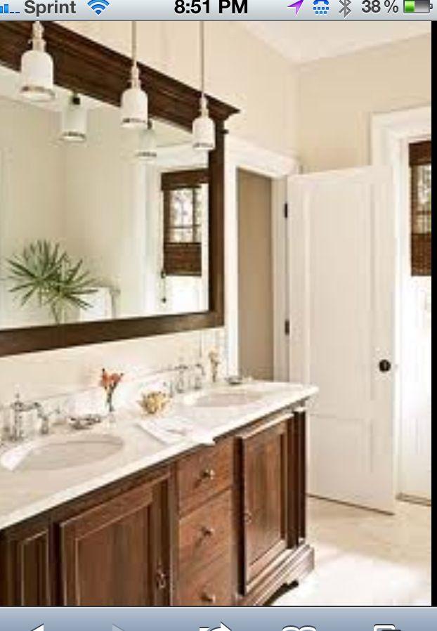 crisp clean simple bathroom for the kids bathroom