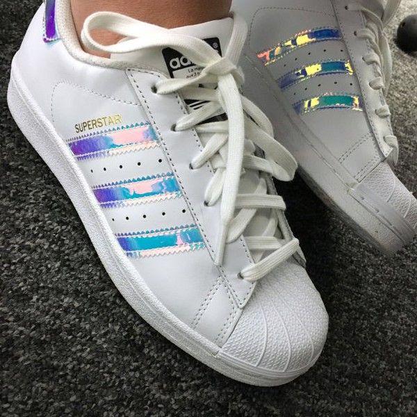adidas iridescent sneakers