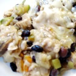 Brown Rice and Black Bean Casserole | Recipe