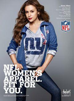 nfl clothing for women www.ladysfootball.com