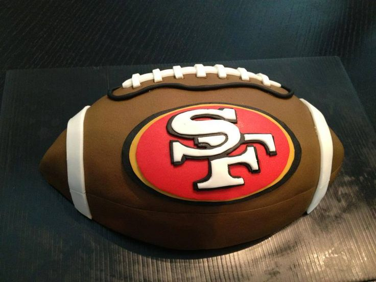 Birthday Cake Design San Francisco : San Francisco 49ers Cake Ideas and Designs