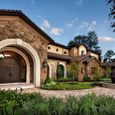 Mediterranean exterior design building my new home for Mediterranean home exterior design