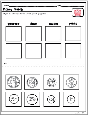 The Lesson Plan Diva: Money Centers and Activities- Freebie and Win a ...