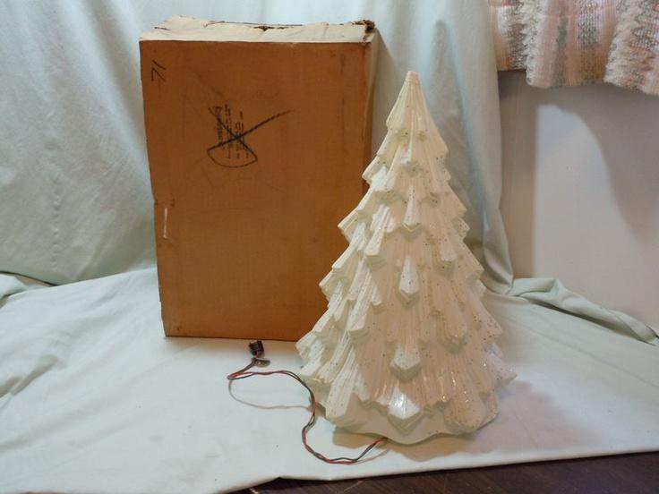 Vintage Feather Christmas Tree